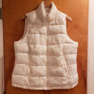 Doll House White Puffer Vest
